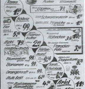 Angebot zum 100-jährigen Jubiläum, Foto Archiv J. Grabbe