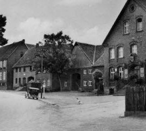 Straßenzug von Hanewinkel nach Kirchhoff 1949, Foto Archiv J. Grabbe