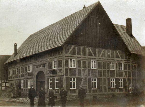 1904: Dorfansicht