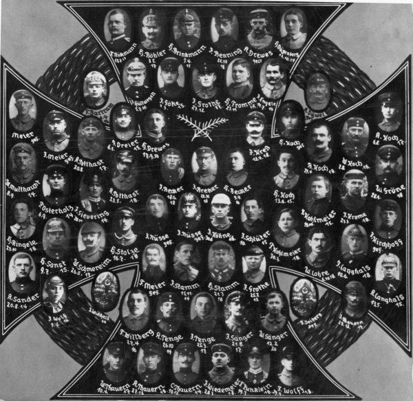 1918: Ehrentafel