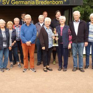 I. Bredenborner Boule-Meisterschaft am 18. September 2021